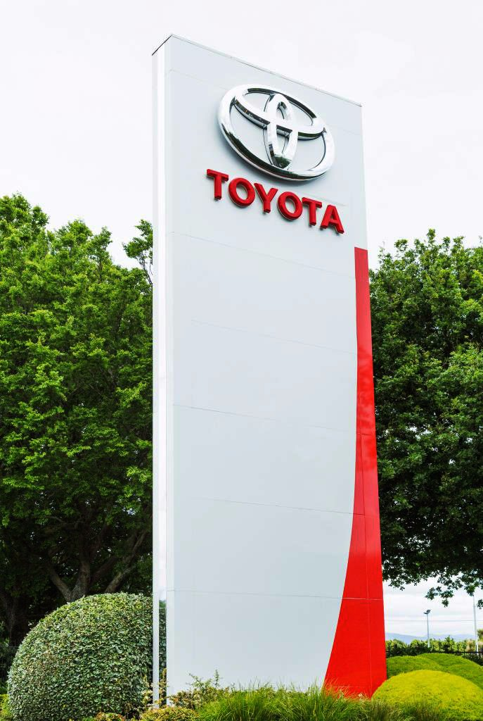 Gateway garden at Toyota